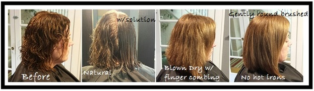 smoothing treatment, keratin treatment, straight hair treatment