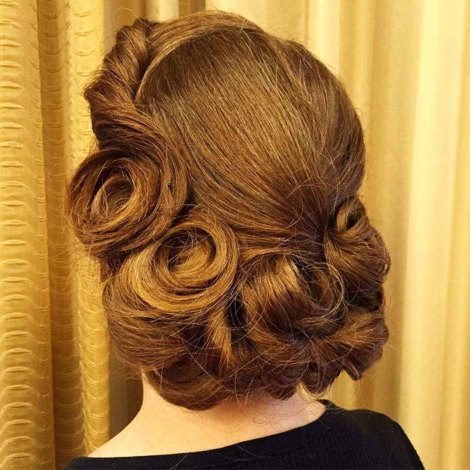 wedding updo portland